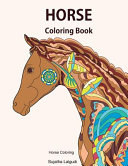 Horse Coloring Book  Horse Coloring