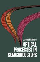 Optical Processes in Semiconductors PDF