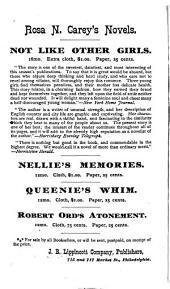Nellie's Memories