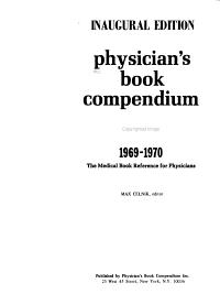 Physician s Book Compendium PDF