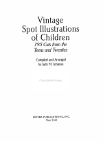Vintage Spot Illustrations of Children