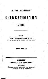 Epigrammaton Libri. Edidit D. F. G. Schneidewin: Volume 2