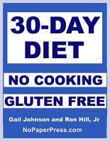 30 Day Gluten Free No Cooking Diet PDF