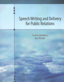 Speech Writing and Delivery for Public Relations