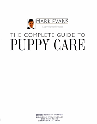The Complete Guide to Puppy Care PDF