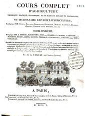 Cours complet d'agriculture... Par une Société d'Agriculteurs, & rédigé par M. l'Abbé Rozier...