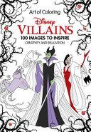 Art of Coloring  Disney Villains Book