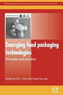 Emerging Food Packaging Technologies