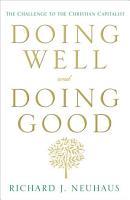 Doing Well and Doing Good PDF
