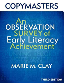 Copymasters for the 3rd Edition of an Observation Survey of Early Literacy Achievement Book