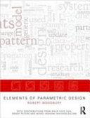 Elements of Parametric Design PDF