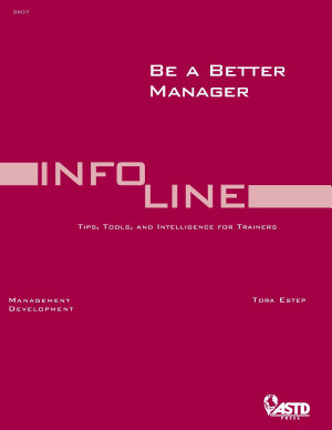 Be a Better Manager PDF
