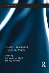 Dissent, Protest and Dispute in Africa