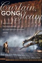 Curtain, Gong, Steam