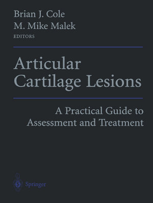 Articular Cartilage Lesions
