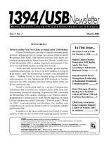 1394 USB Newsletter PDF