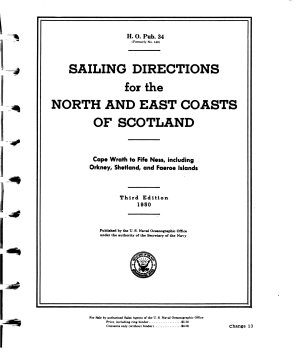 Sailing Directions for the North and East Coasts of Scotland PDF
