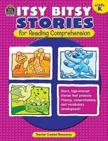 Itsy Bitsy Stories For Reading Comprehension Grade K