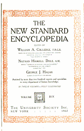 The New standard encyclopedia: Volume 6
