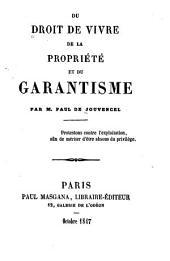 Petit pamphlet sur le projet de constitution