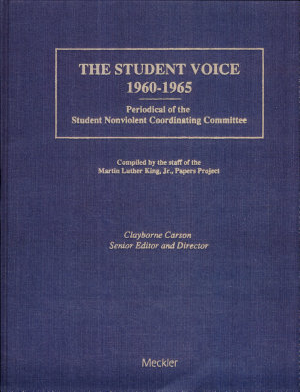 The Student Voice  1960 1965 PDF