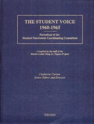 The Student Voice 1960 1965 Book PDF