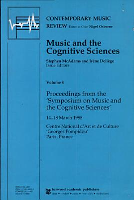 Music and the Cognitive Sciences PDF