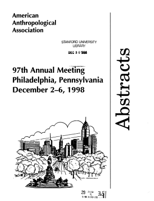 Abstracts of the Annual Meeting