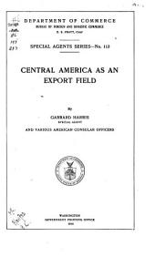 Central America as an Export Field