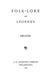 Folk-lore and Legends: English, Scandinavian, Volumes 1-2