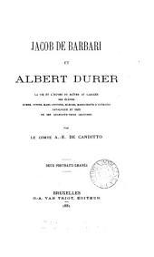 Jacob de Barbari et Albert Durer
