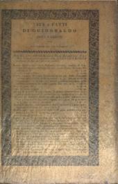 Della vita e de' fatti di Guidobaldo I. da Montefeltro, duca d'Urbino libri dodici: Volume 1