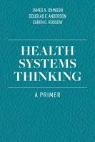 Health Systems Thinking PDF