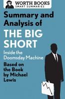 Summary and Analysis of The Big Short  Inside the Doomsday Machine PDF