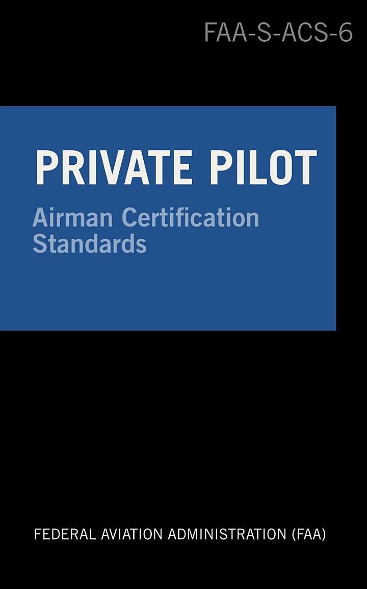Private Pilot Airman Certification Standards - Airplane