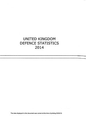 UK Defence Statistics