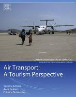 Air Transport   A Tourism Perspective PDF