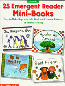 25 Emergent Reader Mini Books Book