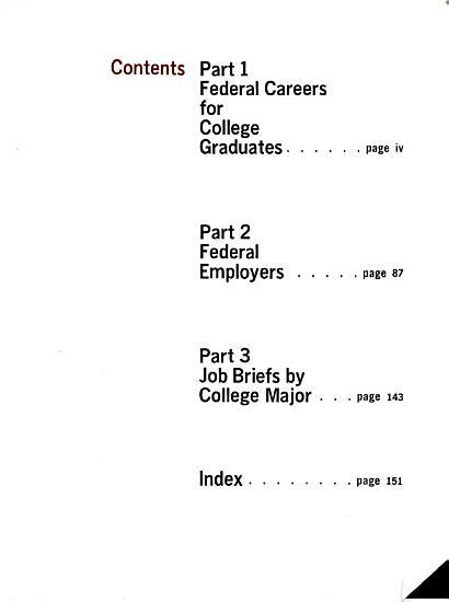 Federal Career Directory PDF