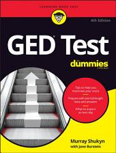 GED Test For Dummies: Edition 4