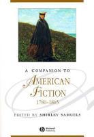 A Companion to American Fiction  1780   1865 PDF
