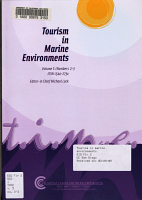 Tourism in Marine Environments PDF