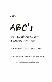 The ABC s of Hospitality Management PDF