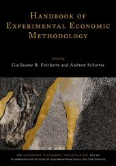 Handbook of Experimental Economic Methodology