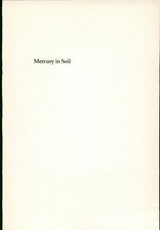 Mercury in Soil PDF
