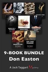 Jack Taggart Mysteries 9-Book Bundle: Art and Murder / The Benefactor / Corporate Asset / and 6 more