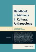 Handbook of Methods in Cultural Anthropology PDF
