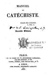 Manuel du catéchiste