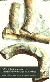 Paléontologie française, ou, Description des fossiles de la France