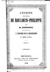 L'Europe depuis l'avénement du roi Louis-Philippe: Volumes11à12